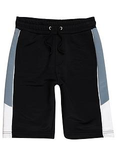 river-island-boys-navy-panel-sports-short