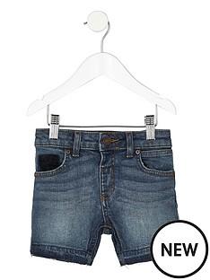 river-island-mini-blue-authentic-denim-shorts