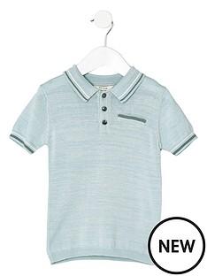 river-island-mini-light-blue-tipped-smart-polo-shirt