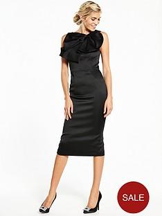 v-by-very-satin-fan-bodycon-dress