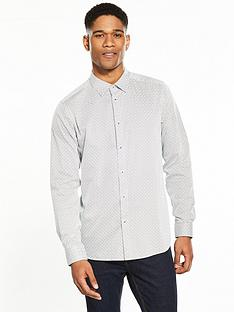 ted-baker-allover-print-longsleeve-shirt
