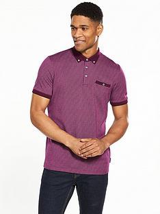 ted-baker-allover-print-polo-shirt