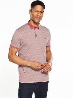 ted-baker-mens-geometric-print-polo-shirt