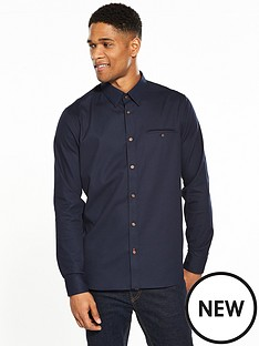 ted-baker-textured-longsleeve-shirt