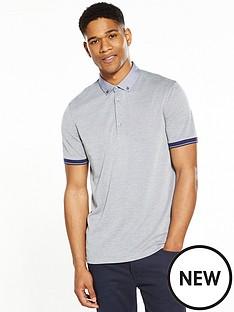 ted-baker-woven-collar-polo-shirt