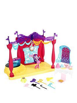 Hasbro My Little Pony Canterlot High Playset W Doll