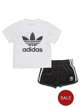 adidas-originals-adidas-originals-baby-boy-trefoil-tee-and-short-set