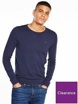 tommy-jeans-denim-small-flag-knitted-jumper-navy