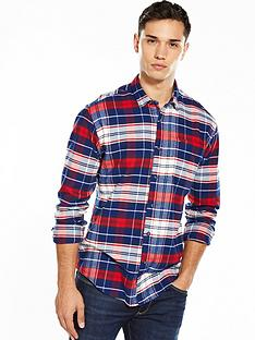 hilfiger-denim-tommy-hilfiger-denim-tartan-check-long-sleeve-shirt