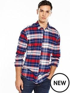 hilfiger-denim-tommy-hilfiger-denim-tartan-check-long-sleeve-shirt