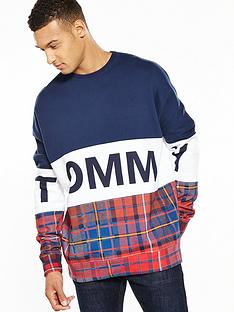 tommy-jeans-tommy-hilfiger-denim-tommy-cut-n-sew-tartan-sweat