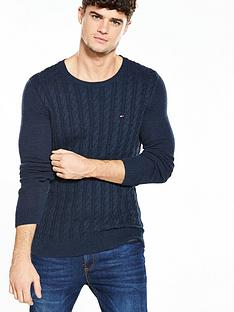 hilfiger-denim-tommy-hilfiger-denim-cable-knit-jumper