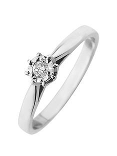 starlight-9ct-gold-14ct-look-5-point-diamond-illusion-set-solitaire-ring