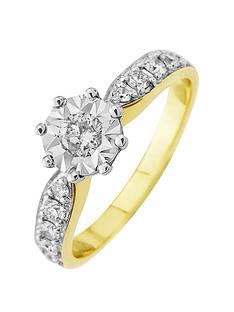 starlight-9ct-gold-125ct-look-50-point-illusion-set-diamond-ring-with-stone-set-shoulders