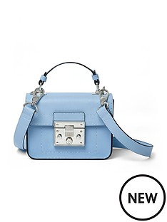 river-island-lock-detail-zip-satchel