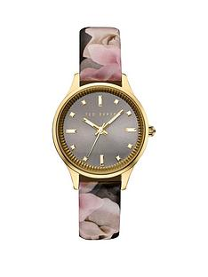 ted-baker-ted-baker-grey-dial-floral-print-strap-ladies-watch