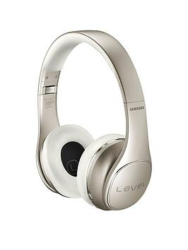 Samsung Stylish Level On Wireless Pro Bluetooth OnEar Headphones  Gold
