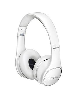 Samsung Stylish Level On Wireless Bluetooth OnEar Headphones  White