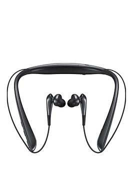 Samsung Stylish Level U Pro Wireless Bluetooth Active Noise Cancellation InEar Headphones  Black