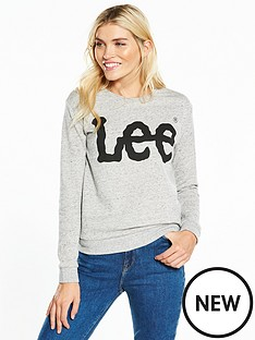 lee-logo-sweatshirt