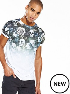 river-island-faded-skull-print-slim-fit-tshirt