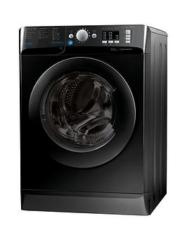 Indesit Innex Bwa81683Xk 8Kg Load 1600 Spin Washing Machine  Black