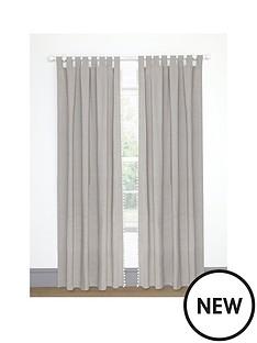 mamas-papas-tab-top-curtains-grey-133220cm
