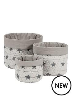 mamas-papas-mamas-amp-papas-3-pack-nursery-baskets--star