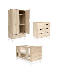 mamas-papas-lawson-cot-bed-dresser-changer-and-wardrobe