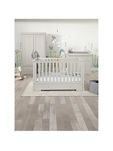 mamas-papas-oxford-cotbed-dresser-amp-wardorbe--grey