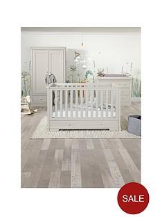 mamas-papas-oxford-cotbed-dresser-amp-wardorbe--grey