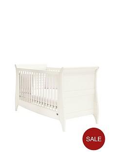 mamas-papas-oxford-sleigh-cot-bed-white
