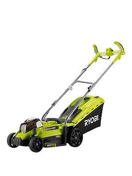 ryobi-rlm18x33h40-18v-one-cordless-33cm-lawnmower-starter-kit-1-x-40ah