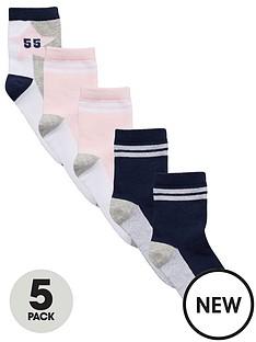 v-by-very-girls-collegiate-socks-5-pack