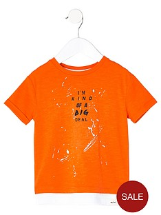 river-island-mini-boys-orange-print-double-layer-t-shirt