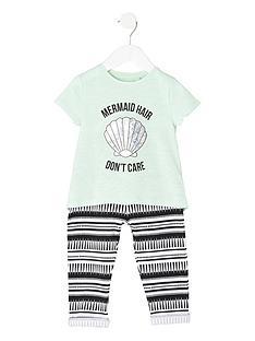 river-island-mini-girls-mermaid-t-shirt-amp-joggers-set