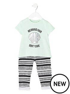 river-island-mini-girls-mermaid-t-shirt-amp-joggers-set