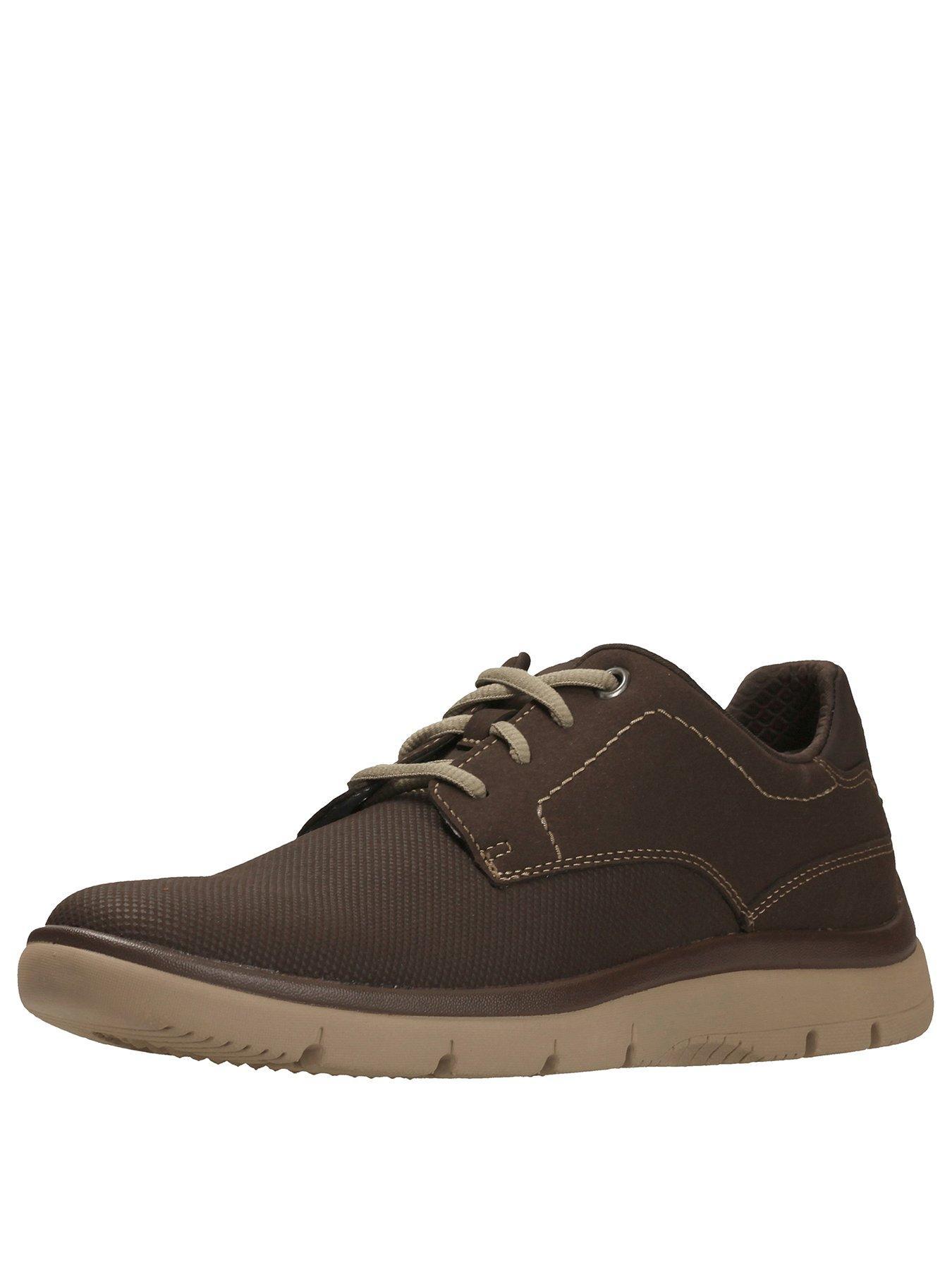 Clarks TUNSIL PLAIN LACE UP SHOE 1600161499 Men's Shoes Clarks Shoes