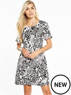 v-by-very-ruffle-sleeve-smock-dress