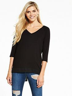 v-by-very-chiffon-back-oversized-t-shirt