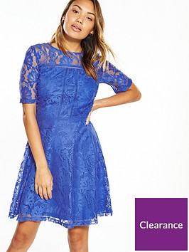 v-by-very-lace-ladder-detail-skater-dress