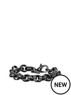 police-police-mens-oxsidised-gun-metal-plate-bracelet