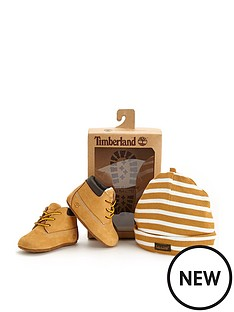 timberland-baby-bootie-and-hat-set