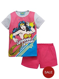wonder-woman-shorty-pyjamas