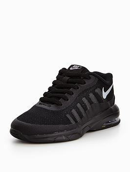 19873b0965bd Nike Air Max Invigor Childrens Trainer - Black