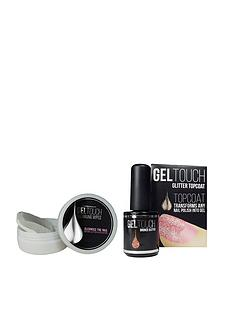 united-beauty-gel-touch-bronze-glitter-top-coat-and-cleansing-wipes