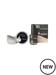 united-beauty-gel-touch-silver-glitter-top-coat-and-cleansing-wipes