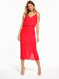 oasis-plain-midi-dress