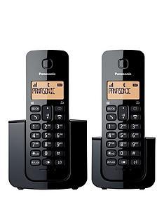 panasonic-kx-tgb112nbspdigital-cordless-phone-twin-handsets-black