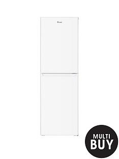 swan-sr8160w-172cm-highnbsp55cm-wide-5050-split-fridge-freezer-white
